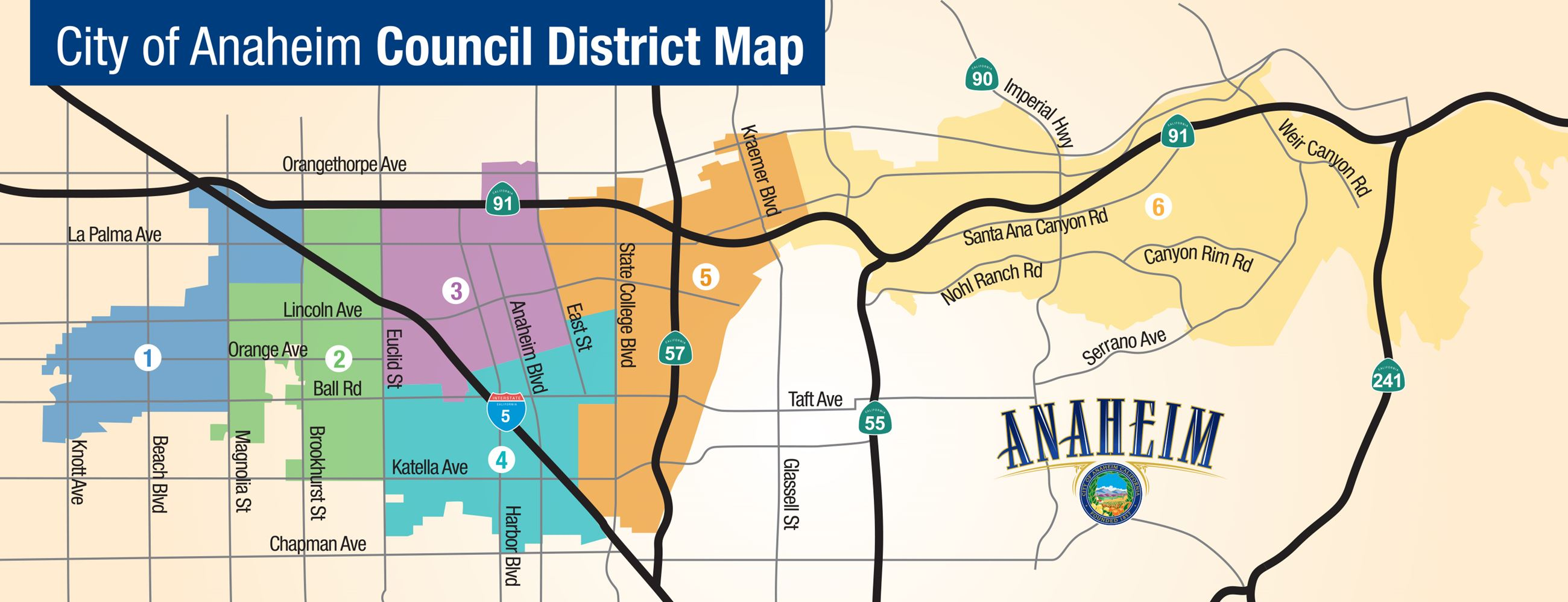Neighborhood District Map 2017