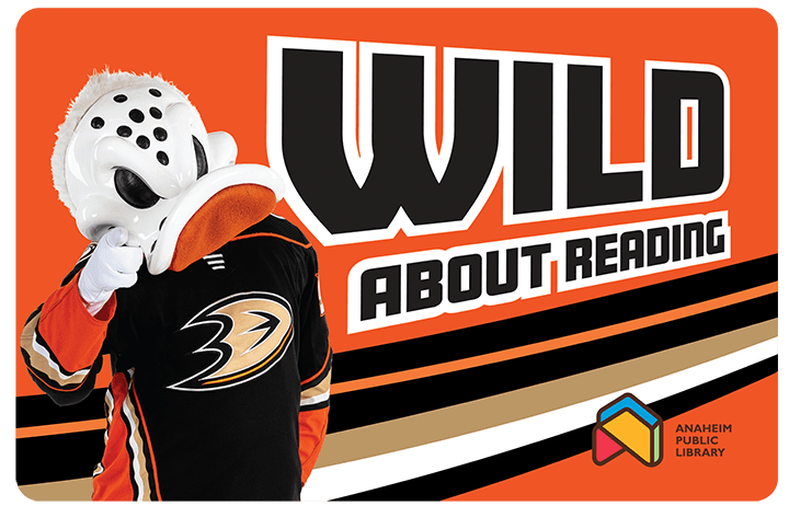 Anaheim Ducks Library Card