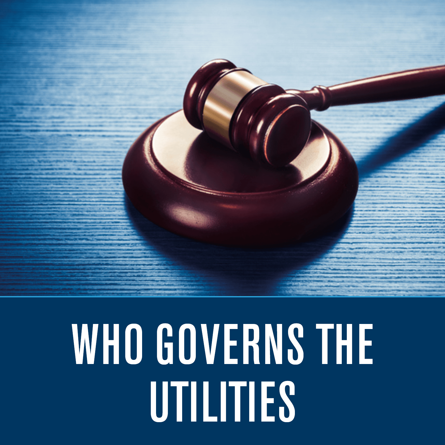 Who governs the Utilities
